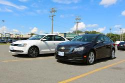 2013 Volkswagen Jetta TDI vs 2014 Chevrolet Cruze Clean Diesel