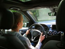 Mercedes-Benz Driving Academy for New Drivers