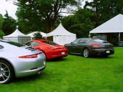 Porsche Panamera & 911 C4S Coupe