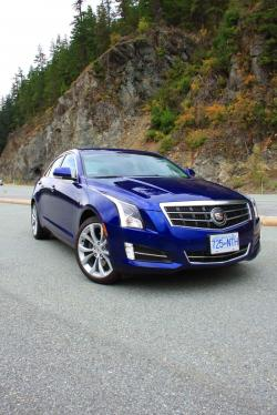 Road Trip 2013 Cadillac Ats 2 0t Awd To Whistler Autos Ca