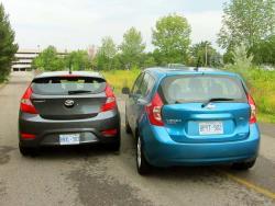 2013 Hyundai Accent vs 2014 Nissan Versa Note