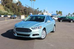First Drive: 2013 Ford Fusion Hybrid first drives
