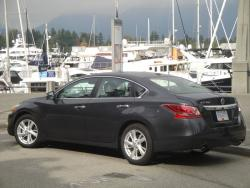 Test Drive: 2013 Nissan Altima 2.5 SL sedan car test drives reviews nissan