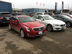 BMW 3 Series and Cadillac ATS