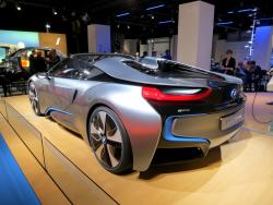 Preview: BMW i8 Spyder and i3 reviews luxury cars hybrids electric green news bmw