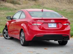 Test Drive: 2013 Hyundai Elantra Coupe SE car test drives reviews hyundai