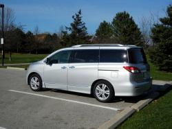 Test Drive: 2013 Nissan Quest car test drives reviews nissan