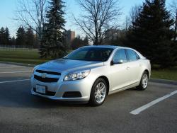 Comparison Test: Best Family Sedans chevrolet