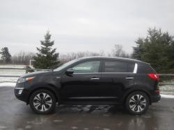 Test Drive: 2013 Kia Sportage SX reviews kia car test drives