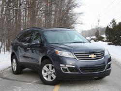 Test Drive: 2013 Chevrolet Traverse car test drives reviews chevrolet