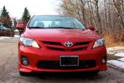 Test Drive: 2013 Toyota Corolla S toyota car test drives