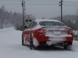 Northern Exposure: 2013 Audi RS 5 Winter Test winter driving car test drives luxury cars audi