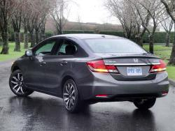 Test Drive: 2013 Honda Civic Sedan Touring honda