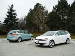 2013 Ford C-Max & Volkswagen Golf