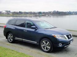 Test Drive: 2013 Nissan Pathfinder Platinum 4WD car test drives nissan