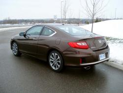 Test Drive: 2013 Honda Accord Coupe EX L V6 car test drives reviews honda