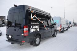 Road Trip: Mercedes Benz Sprinter Arctic Drive, Part I mercedes benz