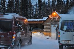 Road Trip: Mercedes Benz Sprinter Arctic Drive, Part II winter driving trucks travel car test drives mercedes benz