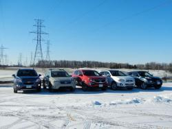 Comparison Test: Mini Crossover SUVs chevrolet