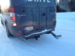 Road Trip: Mercedes Benz Sprinter Arctic Drive; Part III mercedes benz