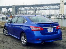 Test Drive: 2013 Nissan Sentra SR car test drives nissan