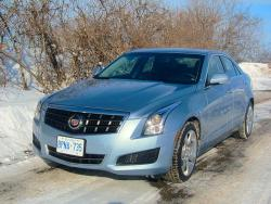 Test Drive: 2013 Cadillac ATS 3.6 AWD car test drives reviews luxury cars cadillac