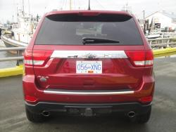 Test Drive: 2013 Jeep Grand Cherokee Overland V8 car test drives reviews jeep