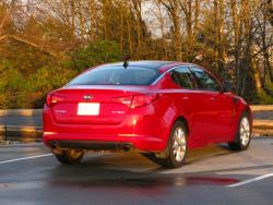 Test Drive: 2013 Kia Optima EX Turbo car test drives reviews kia