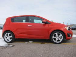 Test Drive: 2013 Chevrolet Sonic LTZ 5 door car test drives chevrolet