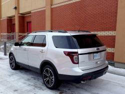 Test Drive: 2013 Ford Explorer Sport car test drives reviews ford