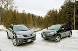 Comparison Test: 2013 Honda CR-V vs. 2013 Toyota RAV4