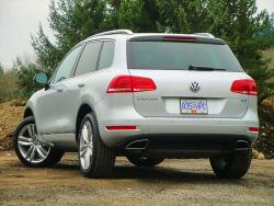 Test Drive: 2013 Volkswagen Touareg Execline TDI Clean Diesel volkswagen car test drives reviews