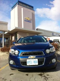 Test Drive: 2013 Chevrolet Sonic LTZ 5 Door Automatic  car test drives chevrolet