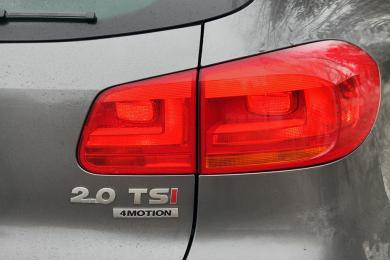 2014 Volkswagen Tiguan Highline R-Line taillight