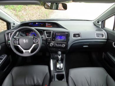 2014 Honda Civic Touring dashboard