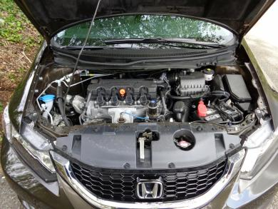 2014 Honda Civic Touring engine bay