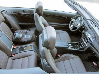 2014 Mercedes-Benz E 550 Cabriolet seating