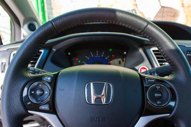 2014 Honda Civic Coupe steering wheel