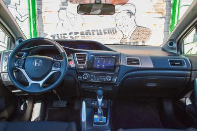 2014 Honda Civic Coupe dashboard