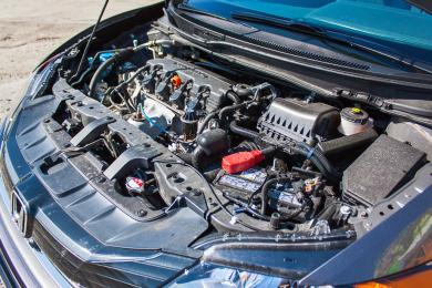 2014 Honda Civic Coupe engine bay