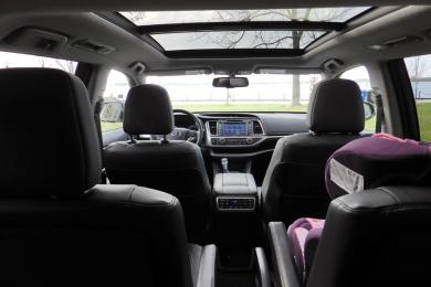 2014 Toyota Highlander Limited panoramic sun roof