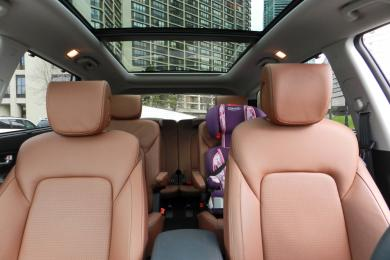 2014 Hyundai Santa Fe XL Limited panoramic sunroof