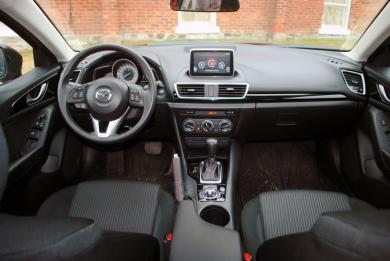 2014 Mazda3 Sport GS dashboard