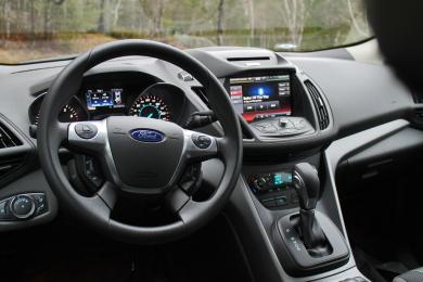 2014 Ford Escape SE EcoBoost dashboard