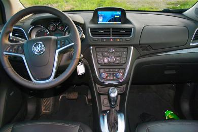 2014 Buick Encore dashboard