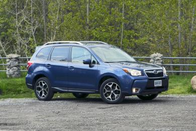 Comparison Test: 2014 Jeep Cherokee Limited vs 2014 Subaru Forester XT subaru jeep car comparisons