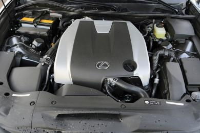 2014 Lexus GS 350 AWD F Sport engine bay