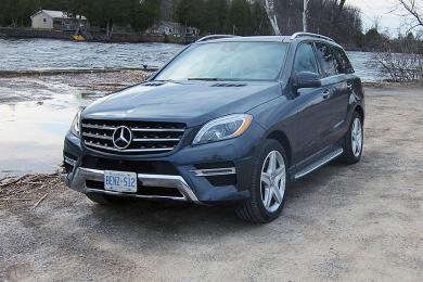 test drive 2014 mercedes benz ml 350 bluetec. Black Bedroom Furniture Sets. Home Design Ideas