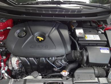 2014 Hyundai Elantra Limited engine bay