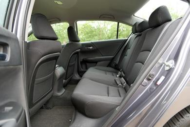 2014 Honda Accord Sport rear seats